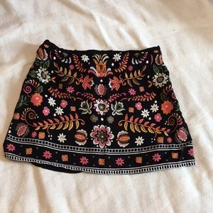GB girls floral skirt, size L